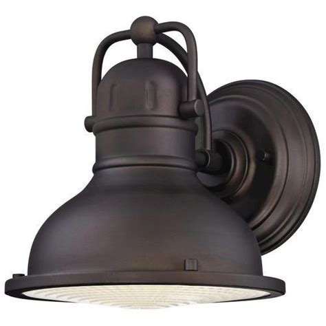 westinghouse orson rubbed bronze led outdoor wall