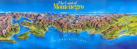 Find articles, fast facts, flags, and other information on the culture, geography, and history of every country on earth. Large detailed panoramic map of the Coast of Montenegro ...