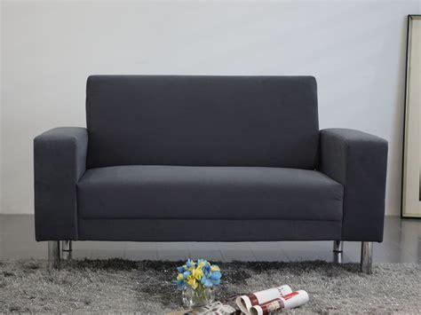 peinture tissu canapé canapé fixe tissu quot quot 2 places gris 86290 86291