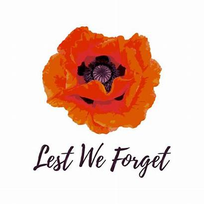 Remembrance Forget Lest Card Clip Illustrations Vectors