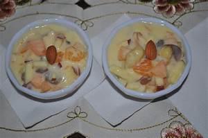 Fruit Custard Recipe | Fruit Dessert | Dessert | How to ...
