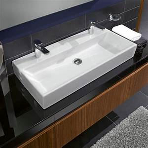 Large bathroom sink with two faucets useful reviews of for Large bathroom sink with two faucets