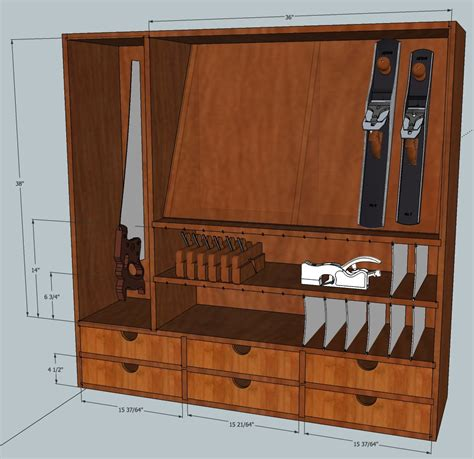 Wooden Tool Storage Cabinet Plans by Tool Cabinet Mcglynn On