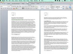 Microsoft Word Document Example