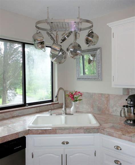 corner kitchen sink  design ideas   perfect kitchen
