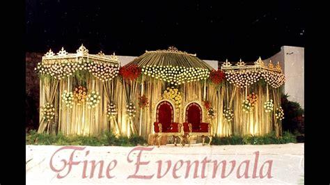 wedding stage decoration  wedding planners pune
