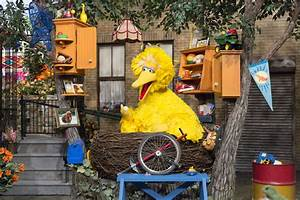 'Sesame Street' freshens its look with new sets for 46th ...