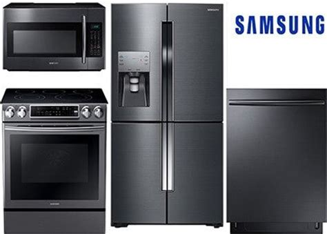 black stainless steel kitchen packages  lg