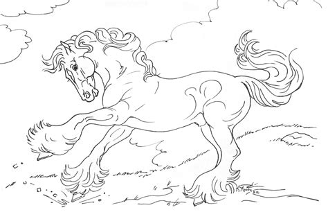 16 Equestrian Coloring Page To Print