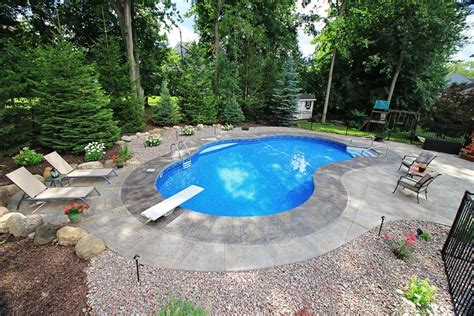 inground pond mountain pond shaped inground pools cannon pools and spas