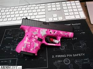 ARMSLIST - For Sale: Hot Pink Glock 26 Gen3 sub compact ...