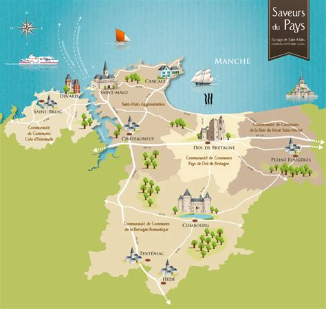 Carte Mont Michel Malo by Qui Sommes Nous Le Pays De Malo