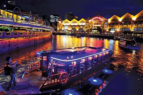 Boat Quay Ride tourist attractions in singapore boat quay and clarke quay