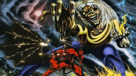 Iron Maiden Eddie Wallpaper Iron Maiden Heavy Metal Dark Album Cover Eddie Fs Wallpaper 1920x1080 120414 Wallpaperup