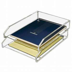 printer With acrylic letter tray