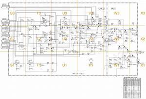 Sylvania - Ewc1304 - Smps Circuit Diagram - Troubleshooting