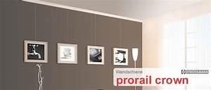 Bilder Aufhängen Schiene : bilderschiene prorail crown g nstig kaufen schienen zubeh r shop ~ Markanthonyermac.com Haus und Dekorationen