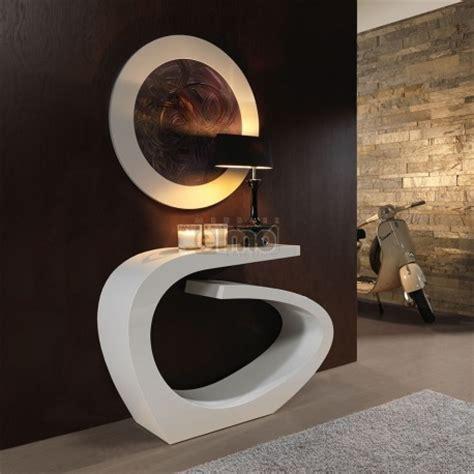 console entree design moderne laque miroir assorti plusieurs finitions