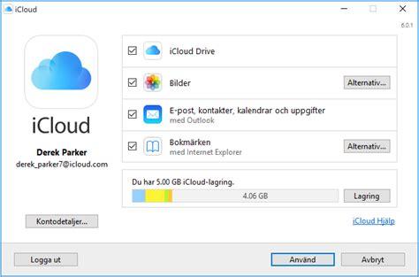 staella  och anvaenda icloud foer windows apple support
