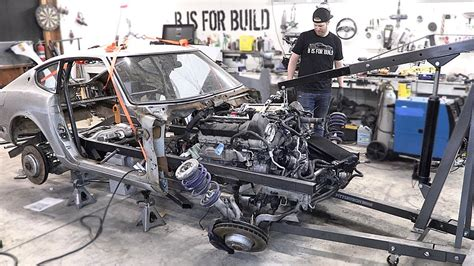Getting The 240z Frame Rails Ready For The Roll Cage