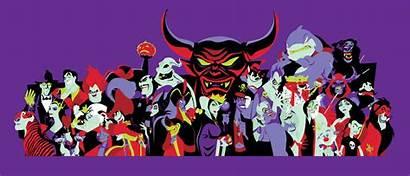 Villains Disney Banner Cartoon Wallpapers Mickeyblog Fanpop