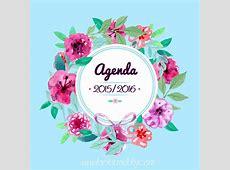 DIY ~ Agenda gratis imprimible 201516 ~ looks and diy