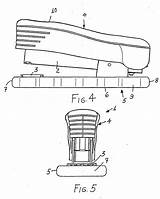 Stapler Drawing Patents Construction sketch template