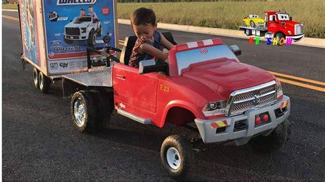 Kruz Buying Powered Ride On Ford Raptor At Walmart Some