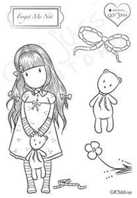 gorjuss girl  arrived forget   teddy bears