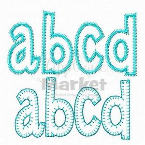 machine embroidery henry applique alphabet font instant With applique letters for quilting