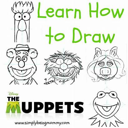 Draw Muppets Drawing Muppet Drawings Disney Learn