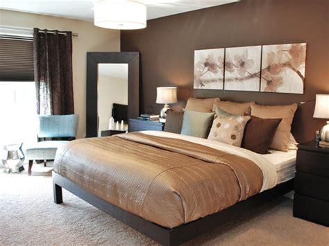 Brown Master Bedroom Decorating Color Scheme Ideas Best
