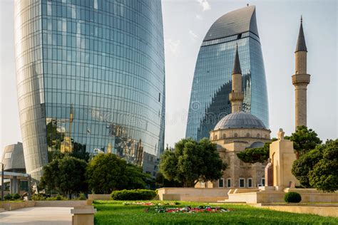 City View Of The Capital Of Azerbaijan, On July 24, 2014, With Great