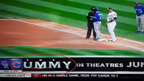 mlb network graphic inadvertently creates  nsfw title
