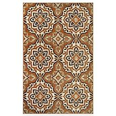 westwood accent rug westwood medallion accent rug in rust bed bath beyond