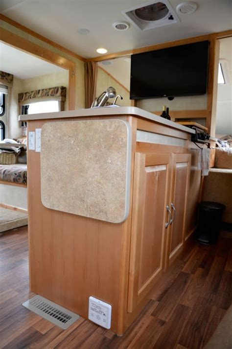 chalet rv ts triple  truck camper washer dryer