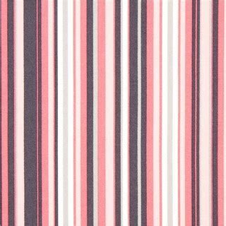 pale pink grey and white stripes fabric by Michael Miller
