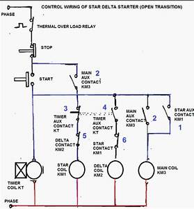 Star Delta Compressor Wiring Diagram