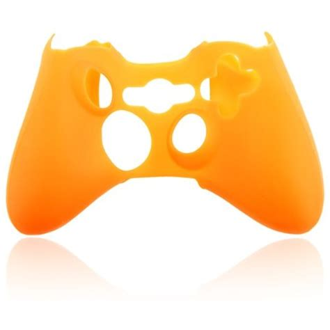 Protective Silicone Case Cover Skin For X360 Controller Orange Virtual Gamers Network