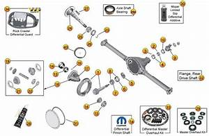 Chrysler 8 25 U0026quot  Rear Axle Parts For Liberty Kj  U0026 Kk