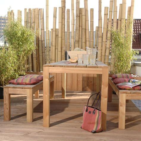 So Wird Die Terrasse Zum Hingucker Fuenf Ungewoehnliche Ideen by Die Besten 25 Bambus Sichtschutz Ideen Auf