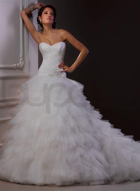 Elegant Ball Gown Wedding Dresses With Sweetheart Neckline