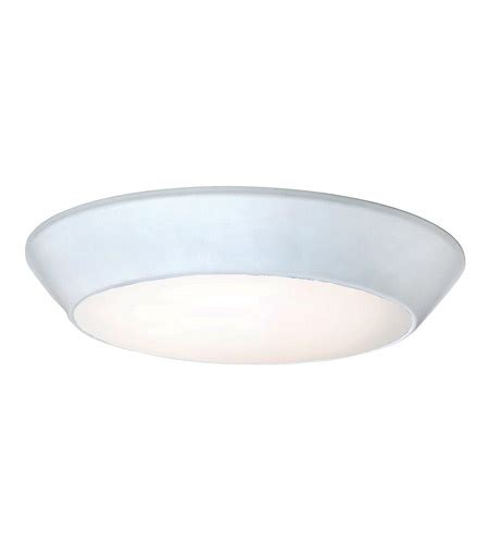 maxim 87617wtwt convert led 8 inch white flush mount