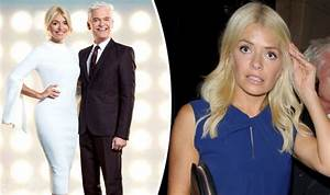 Dancing On Ice: Phillip Schofield BANS co-host Holly ...