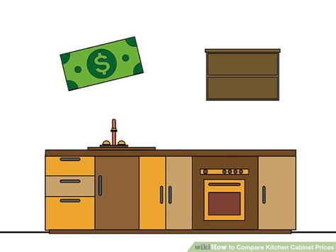 kitchen cabinet set price how to compare kitchen cabinet prices 13 steps with 5744