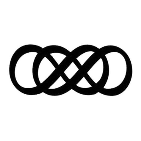 1000+ Ideas About Double Infinity Tattoos On Pinterest