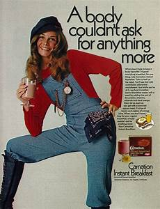 1972 Drink Ad, Carnation Instant Breakfast, with Pretty '7 ...