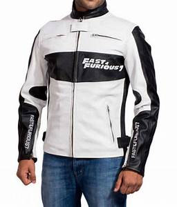 Diesel Mens Size Chart Dominic Toretto Fast And Furious 7 White Racer Jacket