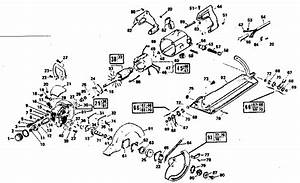 Craftsman Craftsman Industrial 7 4 U0026quot  Worm Drive Saw Parts