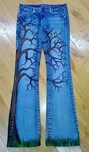 Denim artpainted jeans | Itu0026#39;s a Gurly thing! | Pinterest